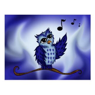 singing Owl Postcard