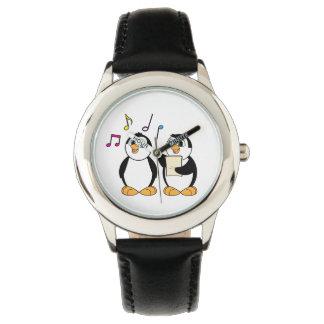 Singing Penguins Wristwatch