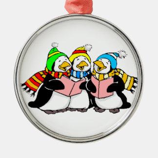Singing Penquins Holiday Tree Ornament