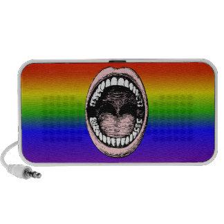 Singing Rainbow Colors - That's Loud! iPhone Speaker