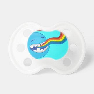 Singing rainbows pacifier
