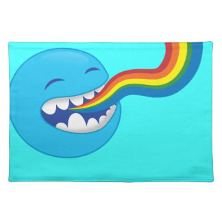 Singing rainbows placemats