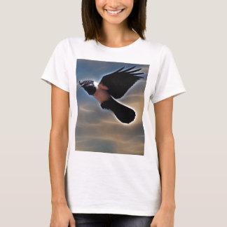 Singing raven in flight T-Shirt