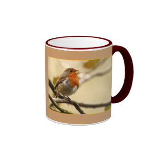 Singing Robin Coffee Mug