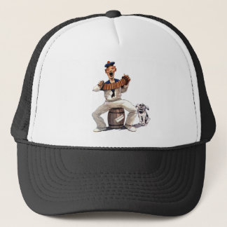 singing sailor trucker hat