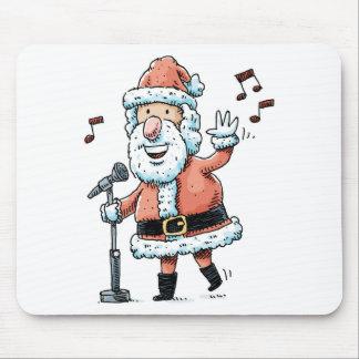 Singing Santa Claus Mouse Pad