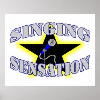 Singing Sensation Poster
