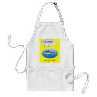 Singing Shark Adult Apron