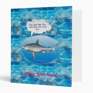 Singing Shark Binder