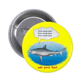 Singing Shark Button
