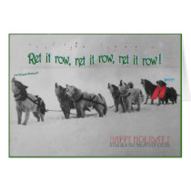 Singing Sled Dogs: SItka Alaska Malamute Choir Card