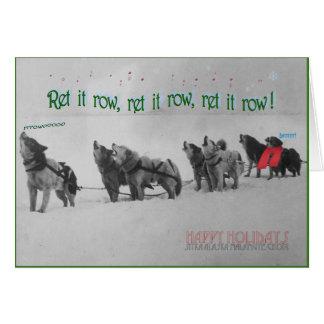 Singing Sled Dogs: SItka Alaska Malamute Choir Card