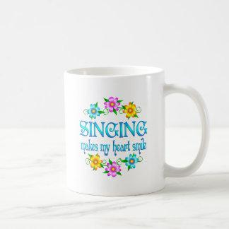 Singing Smiles Classic White Coffee Mug