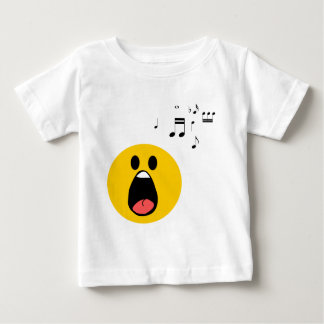 Singing smiley baby T-Shirt