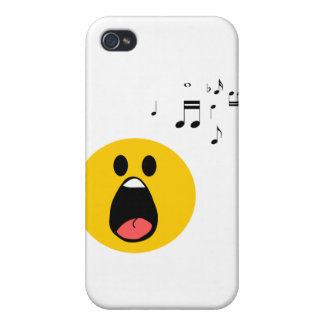 Singing smiley iPhone 4/4S case
