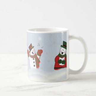 Singing Snowmen Classic 11 oz Coffee Mug