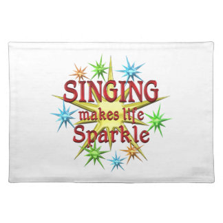 Singing Sparkles Place Mats