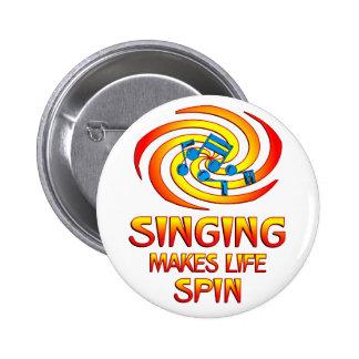 Singing Spins Button