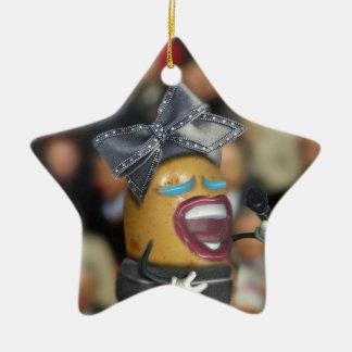 Singing 'Spud' Potato Ceramic Ornament