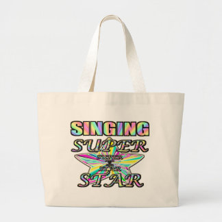 Singing Superstar Jumbo Tote Bag