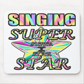 Singing Superstar Mouse Pad