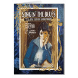 Singing The Blues Vintage Sheet Music Blue Tears