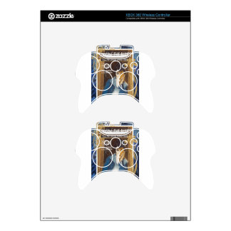 Singing The Blues Vintage Sheet Music Blue Tears Xbox 360 Controller Skins