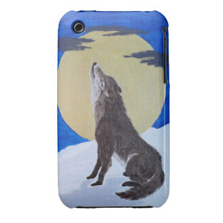 Singing to The Moon iPhone 3 Case