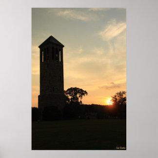 Singing Tower Sunset Print