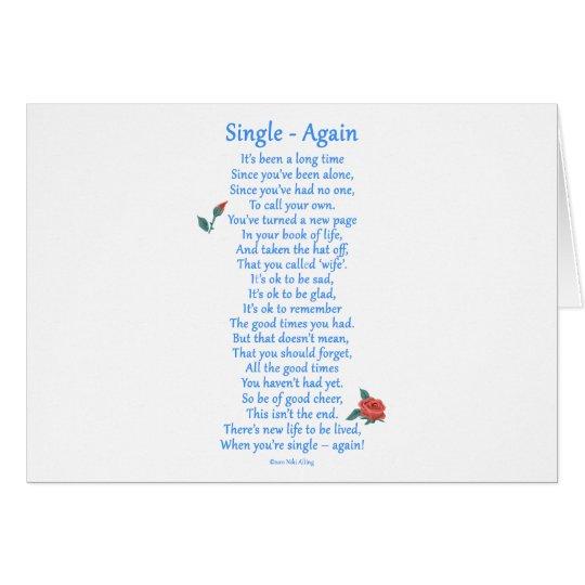 Single Again Card