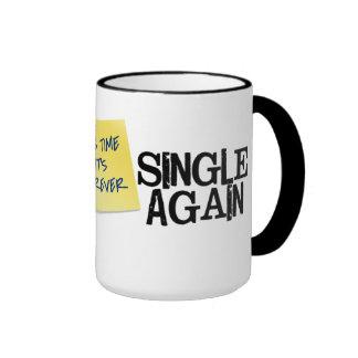Single Again Ringer Mug