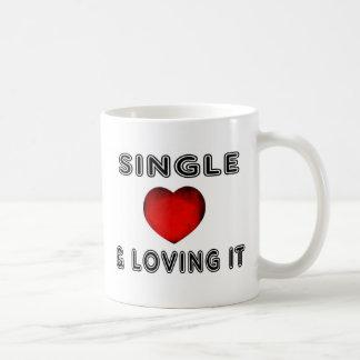 Single And Loving It! Classic White Coffee Mug