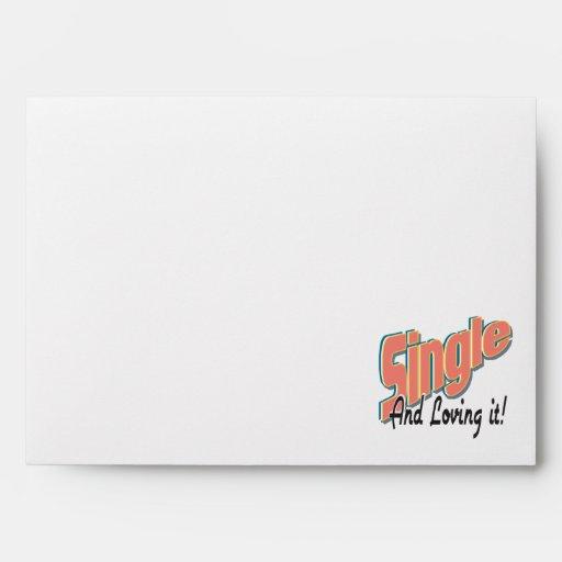 single and loving it envelopes