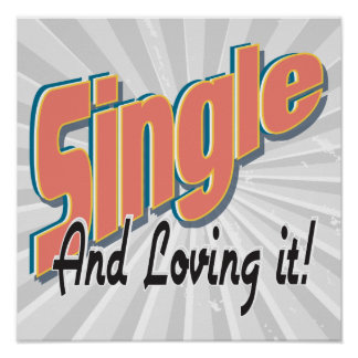 single and loving it poster