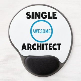Single Awesome Architect Gel Mouse Pad