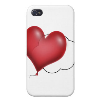 Single Balloon Flying Solo Covers For iPhone 4