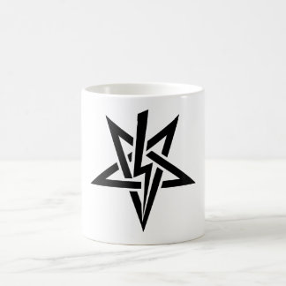 Single Black Anton Szandor LaVey Sigil Mug