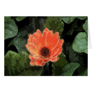 Single bloom stationery note card