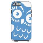 Single Blue Owl iPhone 6 Case