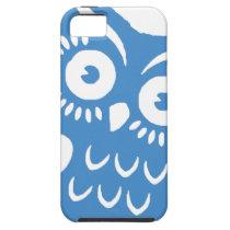 Single Blue Owl iPhone SE/5/5s Case