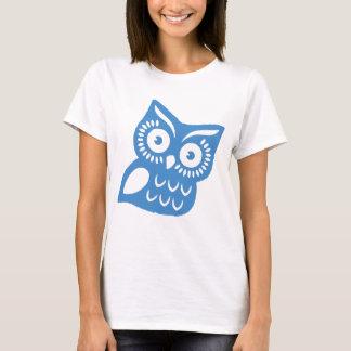 Single Blue Owl T-Shirt