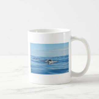 Single Bottlenose Whale Coffee Mug