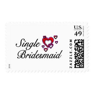 Single Bridesmaid Postage