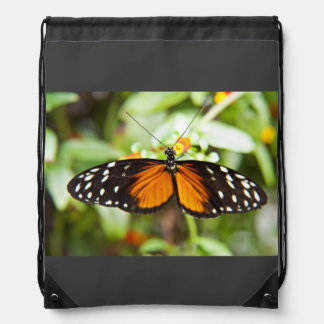 Single Butterfly Drawstring Bags