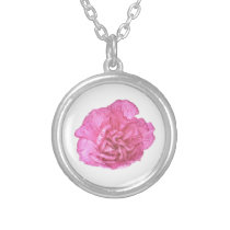 Single Carnation Necklace