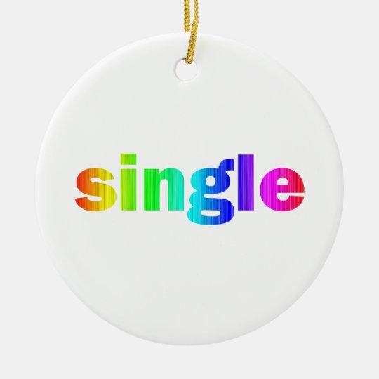 Single Ceramic Ornament