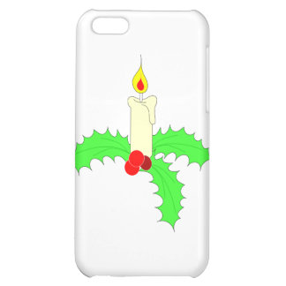 Single Christmas Candle iPhone 5C Case