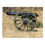 Single Civil War Cannon Post Cards