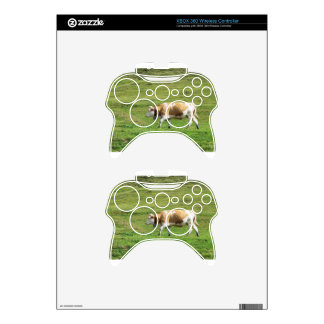Single cow in an alpine pasture xbox 360 controller skin