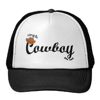 Single Cowboy Trucker Hat